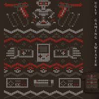 Ugly Gaming Sweater - tee by InfinityWave