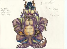 Drunofad Brassfang Koopa by Bowserwiththefire