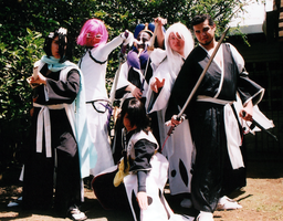 Cosplay Daigumi - Captains And Espada by CosplayDaigumi