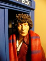 Fourth Doctor Upclose 2 by DoctorWhoNC