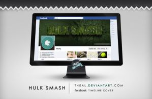 Hulk Smash Timeline Cover by TheAL