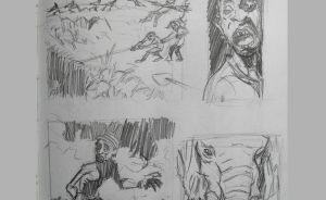 Doug TenNapel style studies 1 of 2 GIF by meandyouplay2