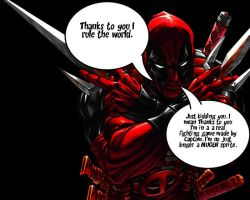 Marvels DeadPool caption by DevintheCool