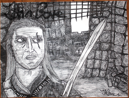 Geralt of Rivia by johnbove