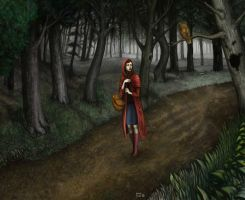 red riding hood by buka-limon