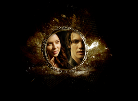 Jeremy + Anna Gold Frame by NightSlash