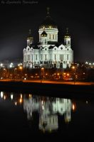 Cathedral with reflection by Lyutik966