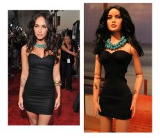 Megan Fox Doll Repaint by ShannonCraven