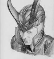 Loki Sketch by devialy55