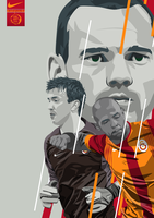 Galatasaray Vector Work by FurkanCbc