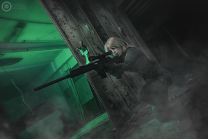 Sniper Wolf - Metal Gear Solid by LadyDaniela89