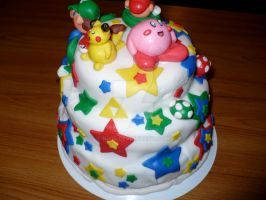 Super Smash Cake 3 by nikis