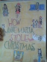 How Anne Maria Stole Christmas Poster by nikkichic109