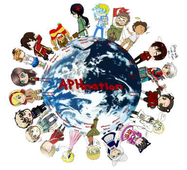 APHnation Collab by sirblueskyy
