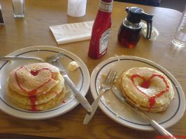 Pancakes in Love by Happy2Live
