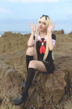 Yuudachi / Kantai Collection Cosplay by MaySakaali