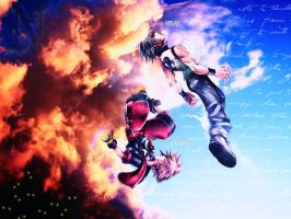 Kingdom Hearts 3D Wallpaper by xXNaXikuXx