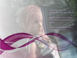 Lightning- Final Fantasy XIII- by bleedingheart10