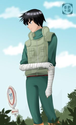 Just Rock Lee by Ravenniia