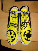 Trafalgar law # 2 vans shoes customize and glasses by Elison182