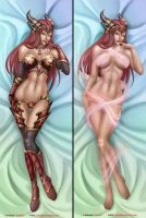 Alexstrasza The Life Binder - Dakimakura by Felox08