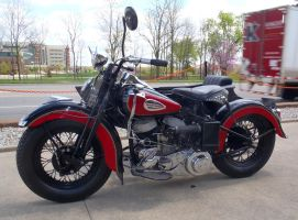 1943 WL Harley-Davidson with Side Car left by Caveman1a