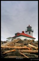 Alki Beach Lighthouse 1 by Krannichfeld