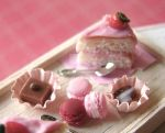 Think PInk Tea Time Tray by PetitPlat