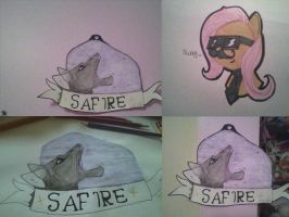 Where Safire will be in my room XD by nightstrikers