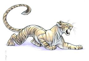 Sabretooth Tiger by Dustmeat