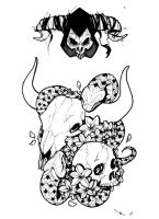 Skullduggery, no Doubt by digitalcrayons