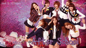 After School Wallpaper by MiAmoure