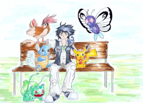 Gabriel and Friends by Linka-Neo