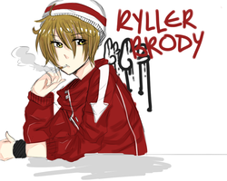 AO: Ryller Brody by Hourglass34