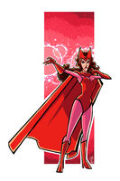 Scarlet Witch by ElOctopodo