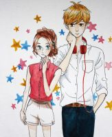 You're my shooting star by lulupapercranes