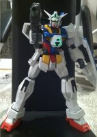 Mega Size Gundam AGE-1 by chanchimi