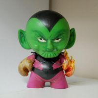 Custom Munny : Super Skrull by daveizoid