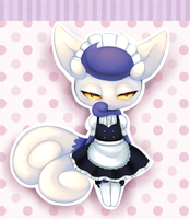 Maid Meowstic by Juni212