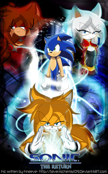 The Sonic's Return - Cover 2014 - New by SilverAlchemist09