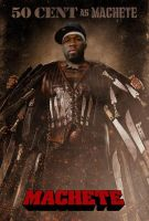 50 Cent as Machete by StArL0rd84