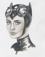 Catwoman by Ombre-Lumineuse