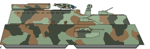 Mk.96 Land Battleship by Louisvillian