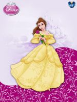 DisneyPrincess - Belle3 ByGF by GFantasy92