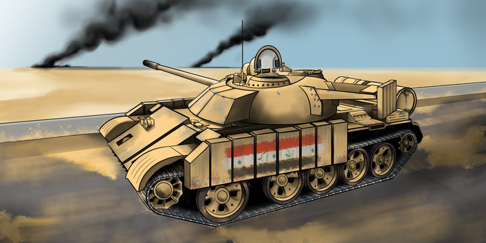 T-55 Enigma by Ralvesp