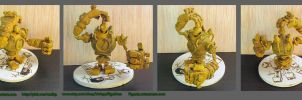 Blitzcrank figure from League of Legends by Zy0n7