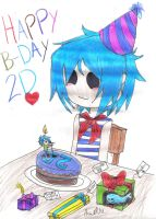 HaPpY B-DaY 2D by AniiTaRuiz