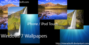 Win7 iPhone-iPod Touch Wallpap by Niwradsoft