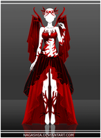 Adoptable Auction: The Bloody Spider's Web by Nagashia