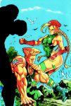 Arthur Garcia's Cammy and Guile Retouched Cover by Janus3003